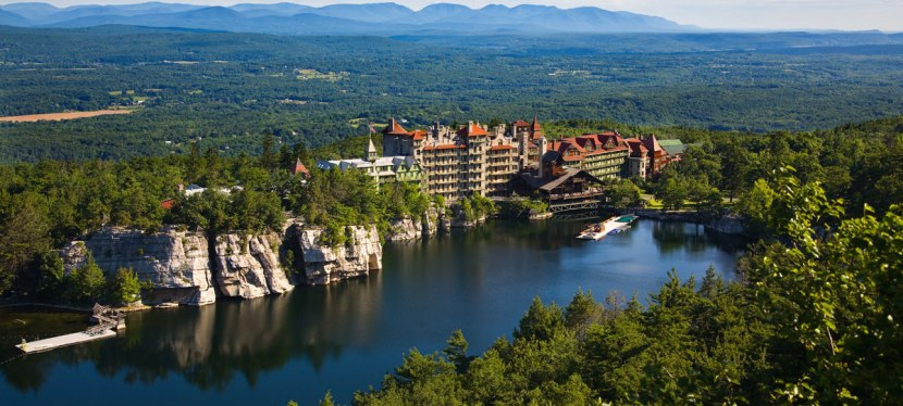 New York–Beyond the City–Take a day trip to MohonkMountain