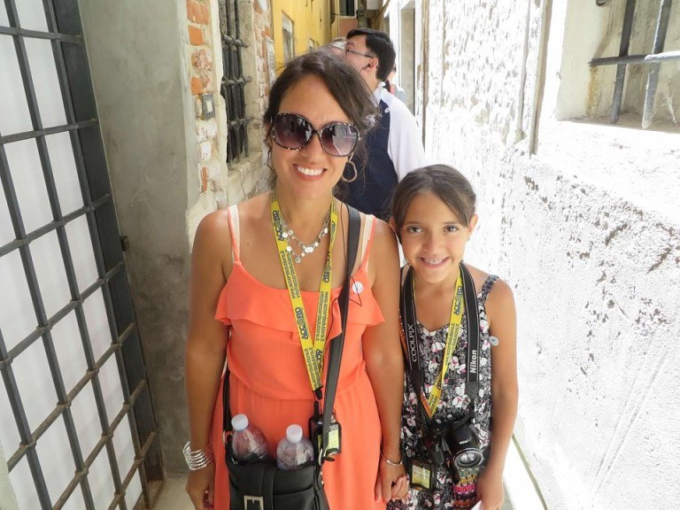 Kristen and Brooke exploring Venice Italy with Viator Skip The Lines Tour